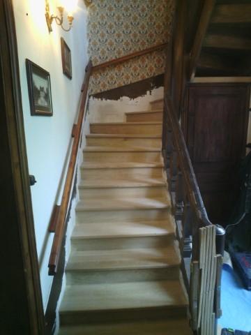 Escalier Bois Normand avant