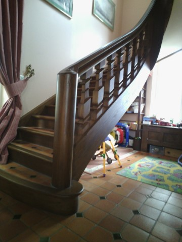 Escalier Conche en Ouche